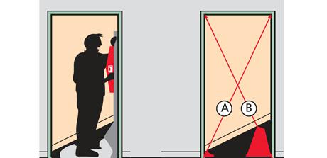 As de f cil es montar una puerta de interior en block - Montar puerta corredera ...