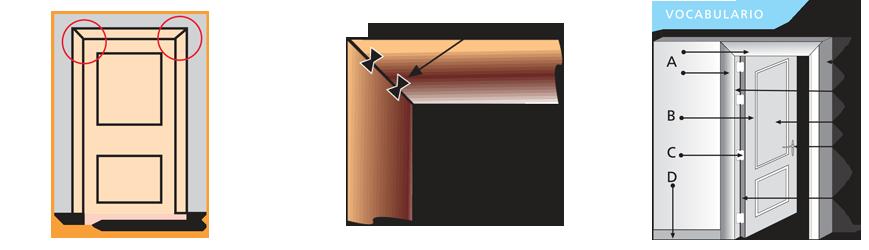As de f cil es montar una puerta de interior en block for Como poner una puerta de madera con marco