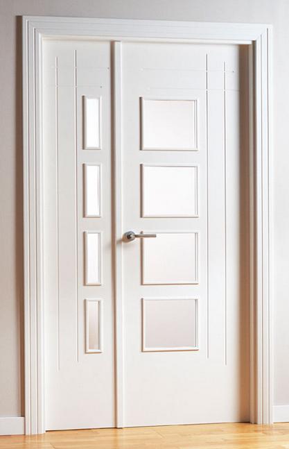 Puertas dobles puertas jemofer for Puertas dobles de madera exterior
