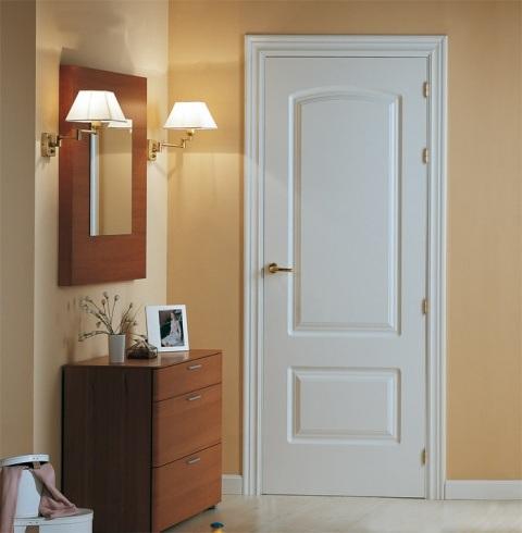 Ambientes para puertas de madera cl sicas y r sticas for Cristales para puertas de interior catalogo