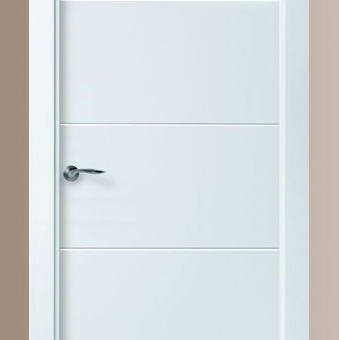 Puertas lacadas blancas puertas jemofer for Puertas blancas modernas