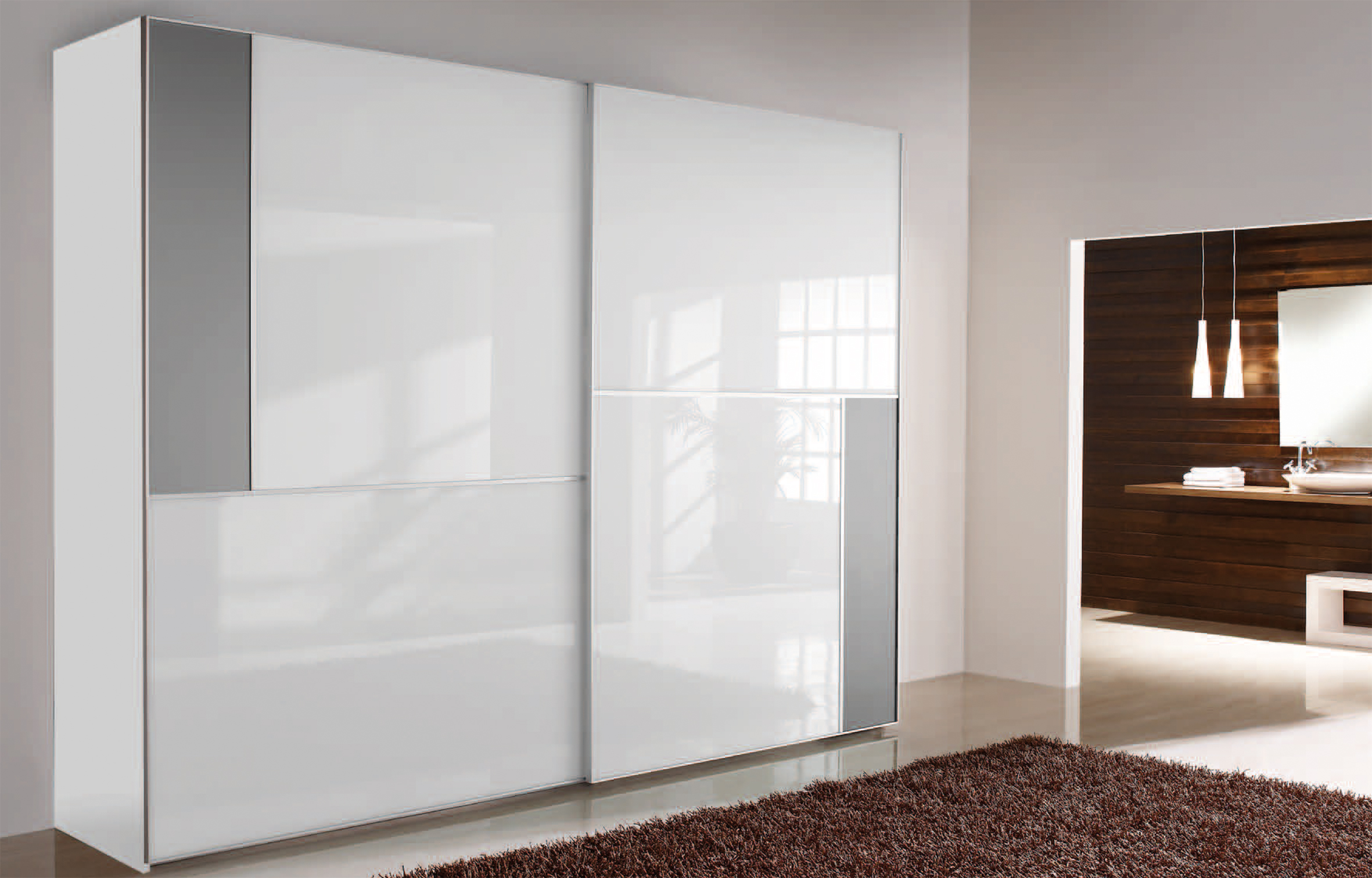 Armario puertas correderas modelo estocolmo puertas jemofer - Puertas correderas de armarios empotrados precios ...