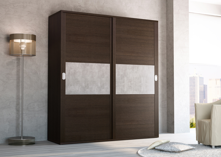 Armario empotrado puertas correderas c malawi puertas for Armario puertas correderas wengue