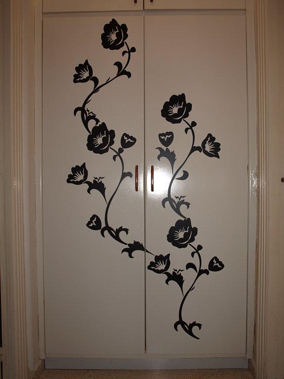 Vinilos para puertas de armario puertas jemofer - Vinilos para decorar armarios ...