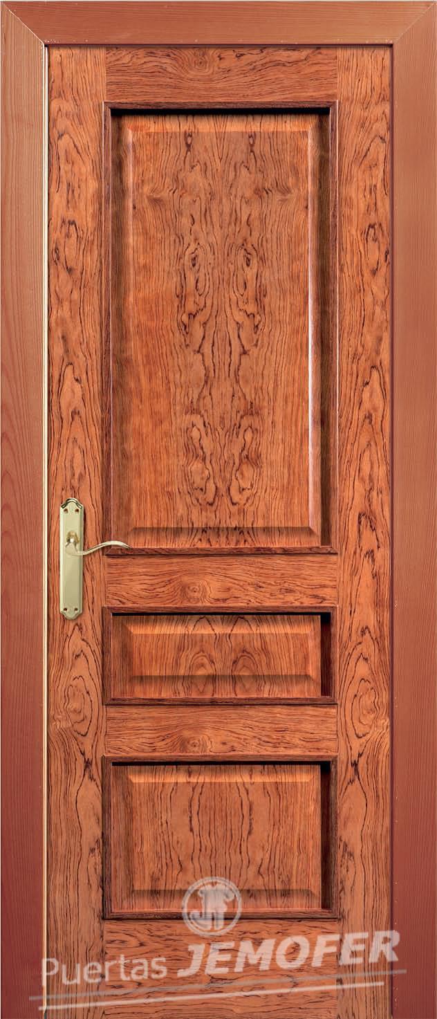 Puerta interior plafonada cl32 puertas jemofer for Presupuesto puertas interior