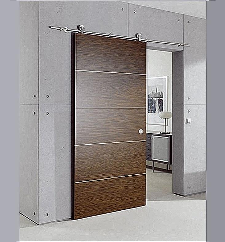 Puerta corredera galer a vista modelo l2 puertas jemofer - Puertas correderas vistas ...