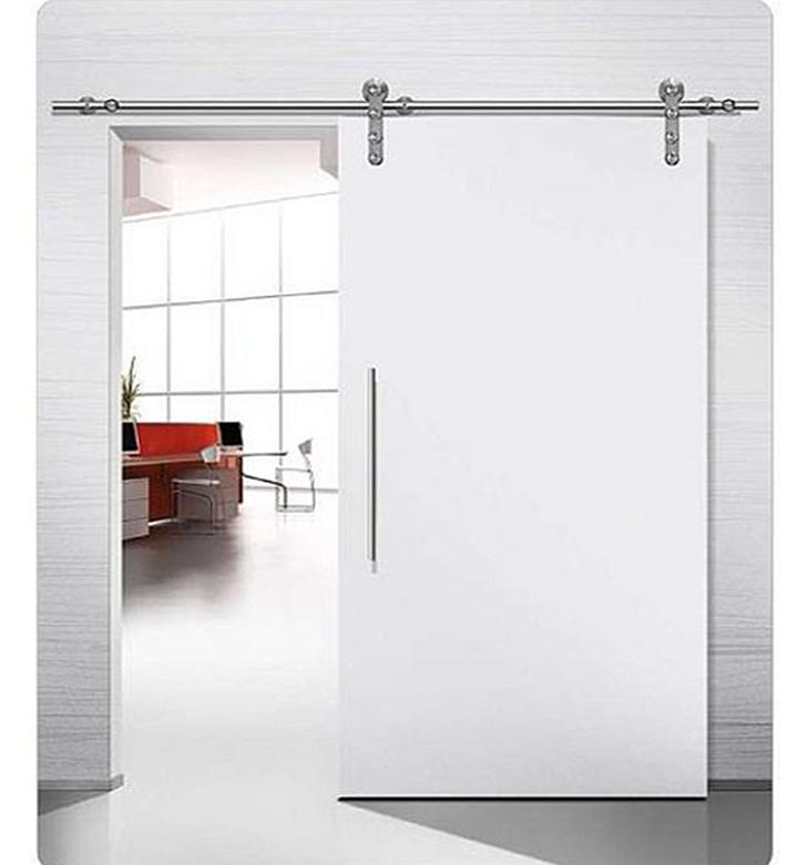 Puerta corredera galer a vista mod lac 00 puertas jemofer - Puerta corredera vista ...