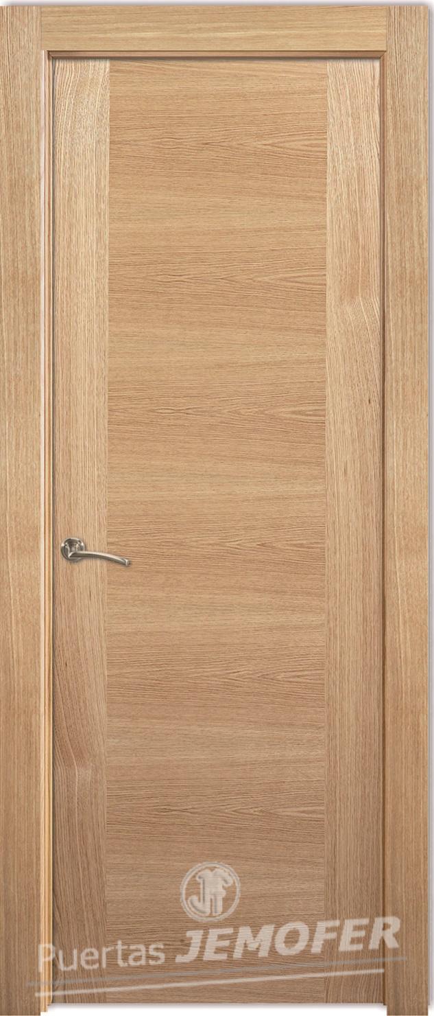 Puerta Interior Moderna LHV roble/haya | Puertas Jemofer