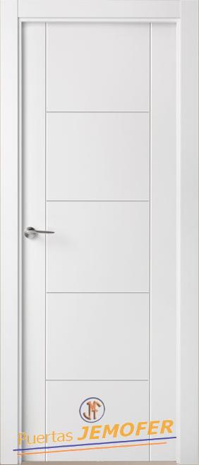 Puerta lacada blanca lac f02 puertas jemofer - Puertas blancas lacadas precios ...