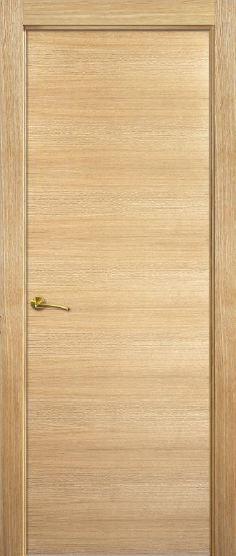 Puerta interior moderna lh roble puertas jemofer for Catalogo de puertas de madera modernas