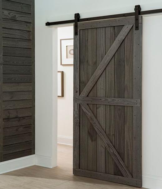 Puerta corredera granero mod g zeta cross puertas jemofer for Puerta granero madera