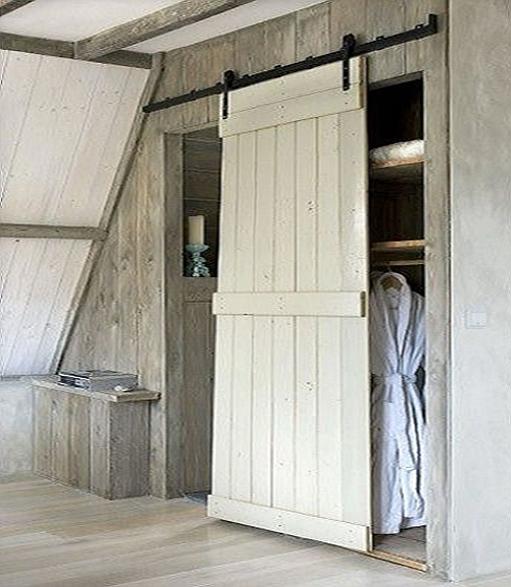 Puertas corredera granero modelo g 10 puertas jemofer for Puerta granero madera