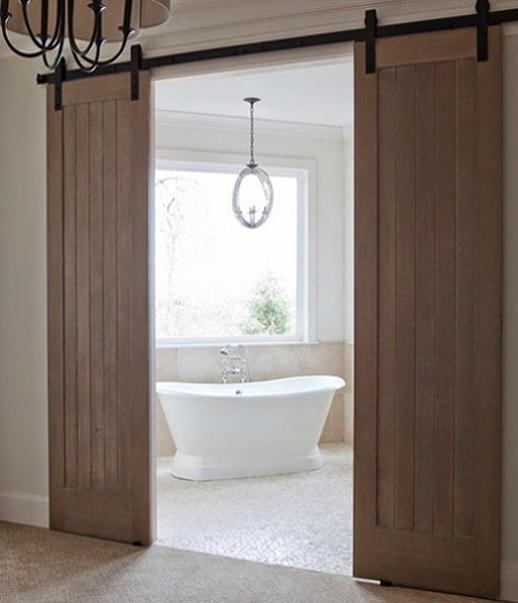 Puertas correderas granero dobles puertas jemofer for Puertas dobles de madera