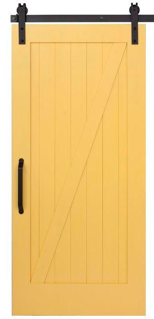 Puerta corredera granero modelo g zeta puertas jemofer for Herraje puerta corredera granero