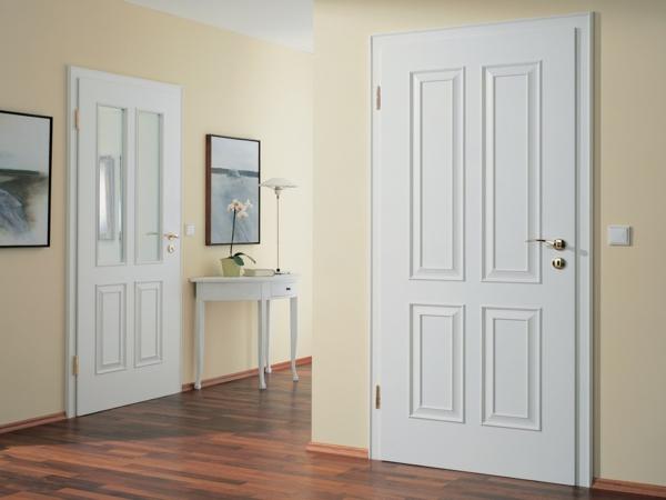 Puertas Blancas Modernas. Puerta Corredera Mod Corredera Sin Obra ...