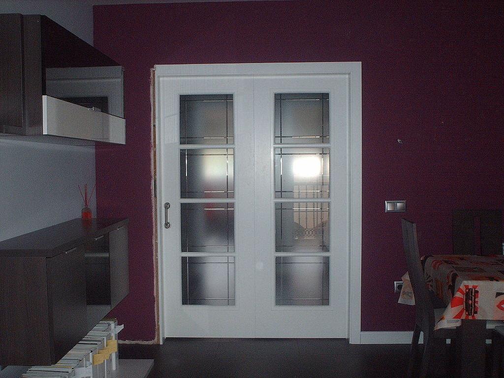 Ambientes puertas lacadas blancas puertas jemofer - Puertas correderas blancas ...