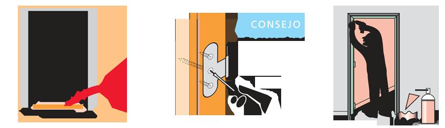 como montar una puerta en block 2º paso