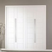 Armarios lacados blancos puertas jemofer - Armarios blancos lacados ...
