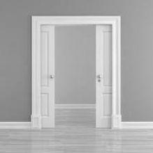 puertas correderas de madera ocultas