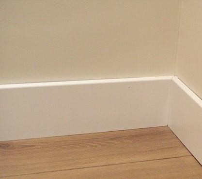 Puertas lacadas blancas puertas jemofer - Poner rodapie ...