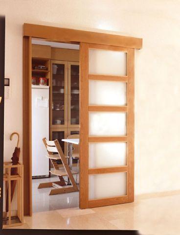 Puertas correderas puertas jemofer - Puertas correderas madera y cristal ...