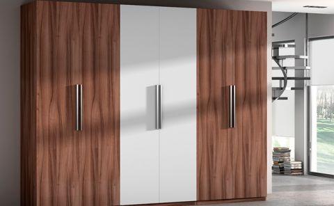 Armarios empotrados puertas y complementos puertas jemofer - Puertas abatibles para armarios empotrados ...