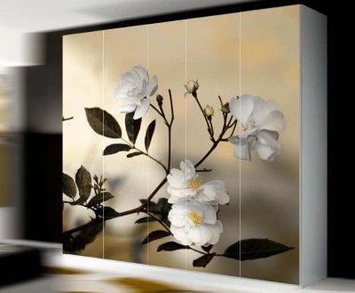 Armario empotrado puertas correderas lacadas c lac08 - Vinilos para puertas de armarios de cocina ...