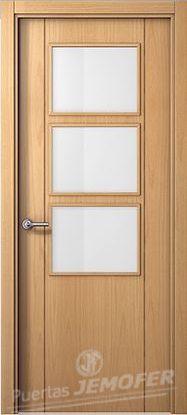 Lg roble puertas jemofer for Puertas en block precios