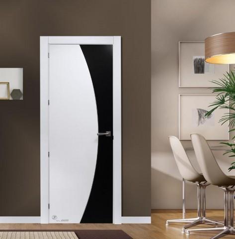 puerta lacada blanca mod 56