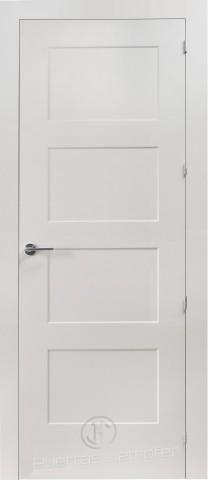 puerta lacada blanca 4 cuadros