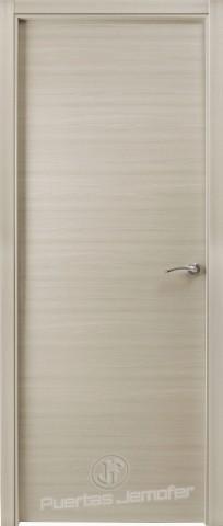 puerta lisa moderna haya blanca
