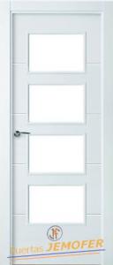 Puertas lacadas blancas puertas jemofer - Puertas de interior blancas precios ...